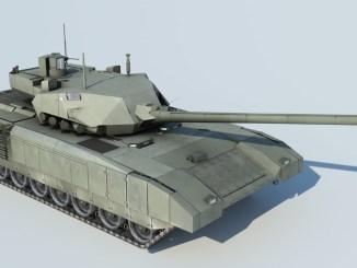 دبابة أرماتا تي-14 الروسية