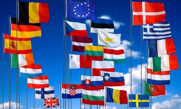 أعلام دول الإتحاد الأوروبي