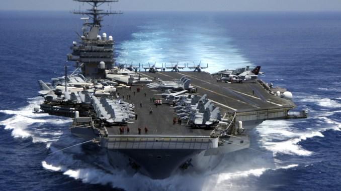 حاملة الطائرات الأميركية كارل فينسون