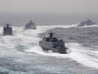 زوارق هجومية سريعة تابعة للبحرية التايوانية