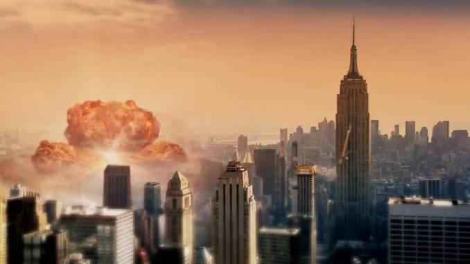 مدينة نيويورك تحت هجوم نووي افتراضي