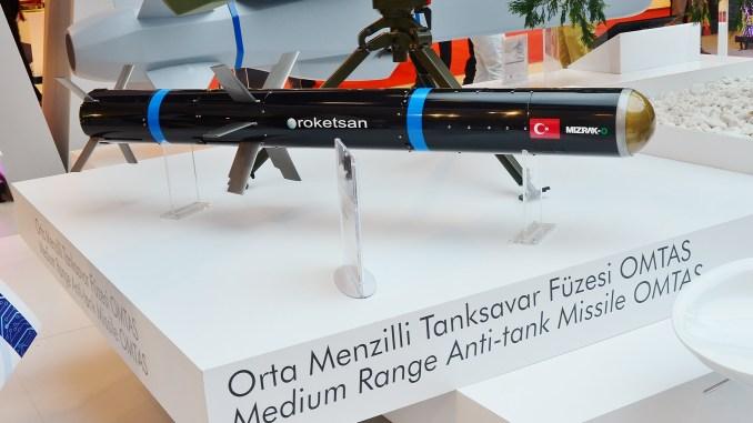 صاروخ OMTAŞ المضاد للدروع