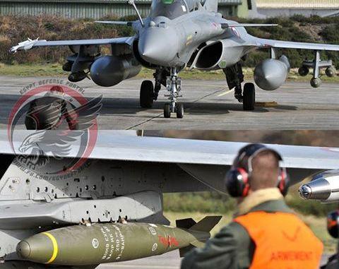مقاتلة رافال وقنبلة Mk-82