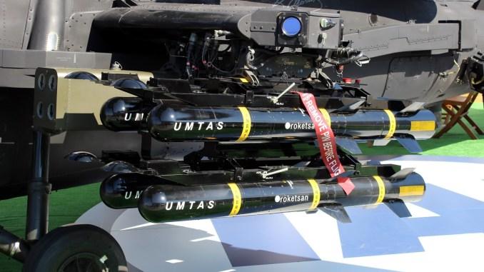 صواريخ UMTAS على مروحية أتاك