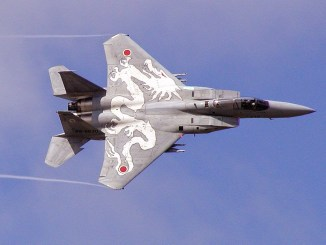مقاتلة يابانية من نوع أف-15