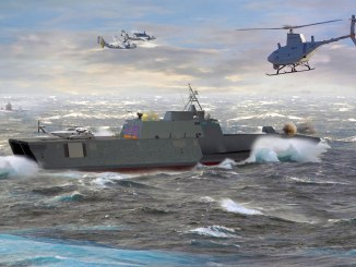 سفينة القتال الساحلي من شركة أوستال