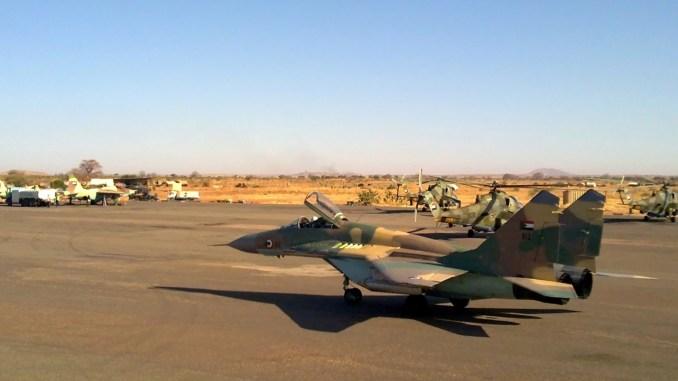 مقاتلة ميغ-29 سودانية