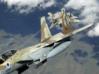 مقاتلتان أف-15 إسرائيليتان