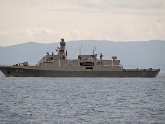 سفينة كورفيت تركية من نوع MILGEM