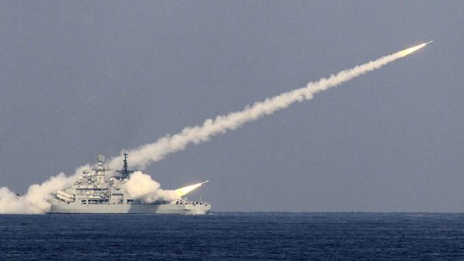 اختبار صاروخ صيني