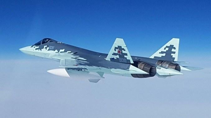 """النموذج 8 من مقاتلة """"تي-50"""""""