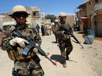 عناصر من الجيش الأميركي في العراق