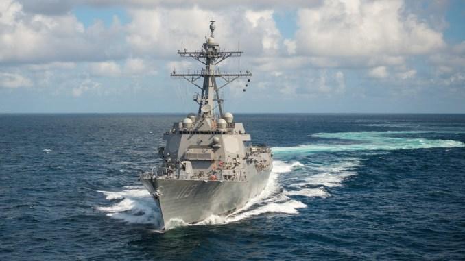 """سفينة """"يو أس أس جون فين"""" الأميركية"""