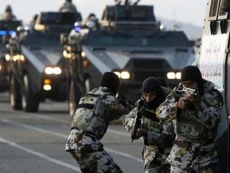 قوات سعودية