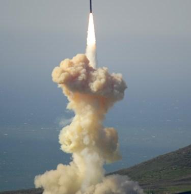 صاروخ من إنتاج شركة رايثيون