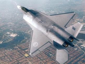 مقاتلة تي أف أكس التركية محلية الصنع