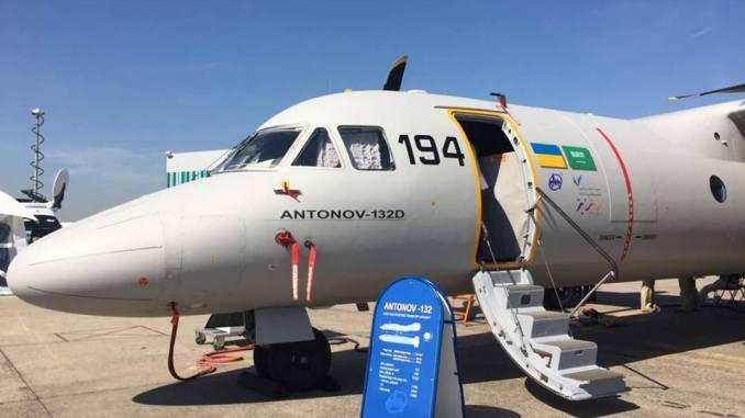 طائرة النقل العسكري أنتونوف AN-132D