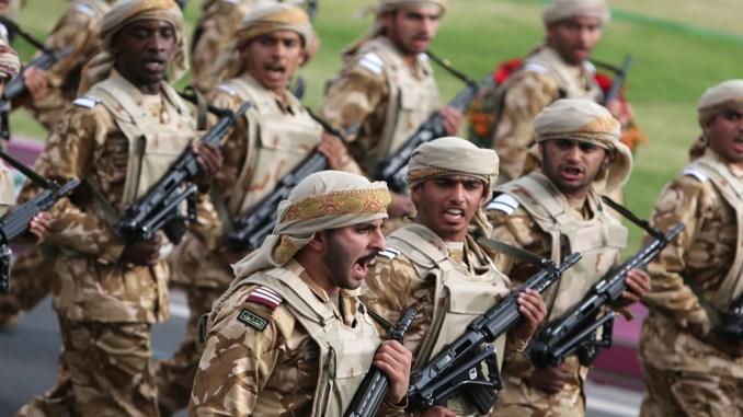 القوات القطرية