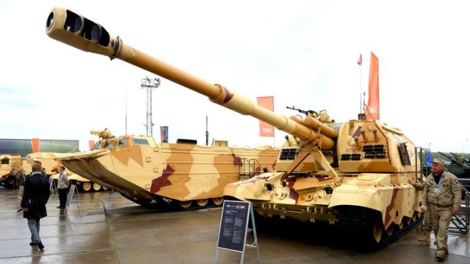 معدات عسكرية روسية