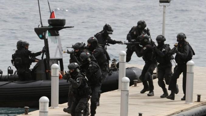 قوات أردنية خاصة