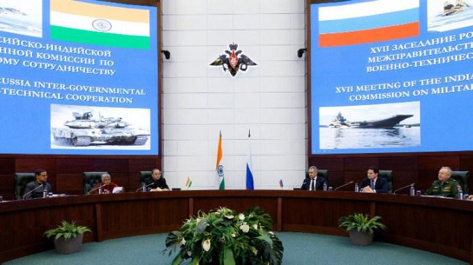 اجتماع للجنة الروسية الهندية للتعاون العسكري