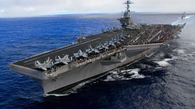 حاملة طائرات Nimitz الأميركية