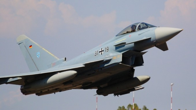مقاتلة يوروفايتر تايفون الألمانية