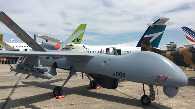"""طائرة """"أنكا"""" من دون طيار خلال معرض باريس للطيران (صورة حصرية)"""