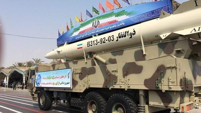 صاروخ ذو الفقار الإيراني
