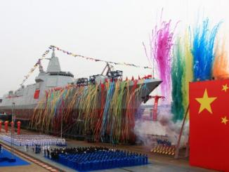لقطة من تدشين الوحش الصيني