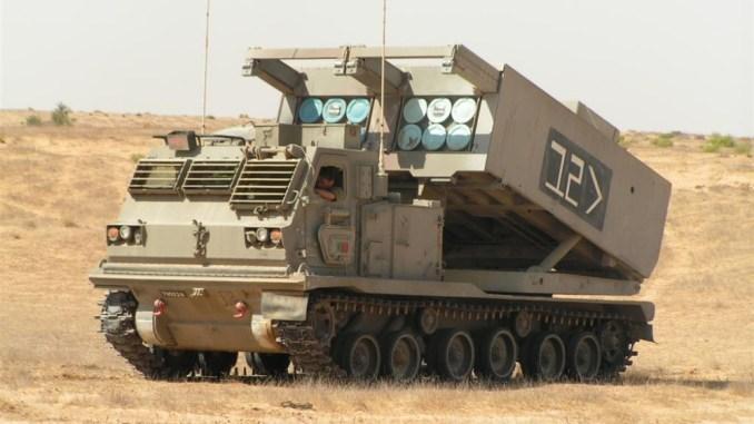 راجمة صواريخ M270 MLRS