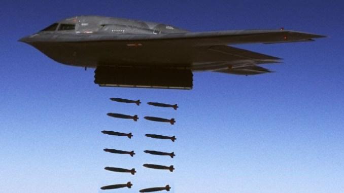 قاذفة القنابل الأميركية بي 2