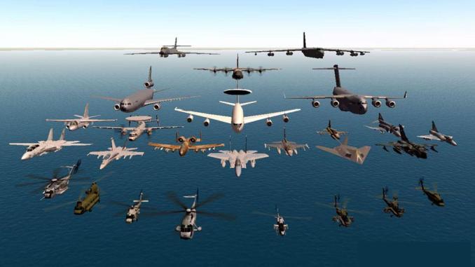 الطيران التابع للحلف الأطلسي