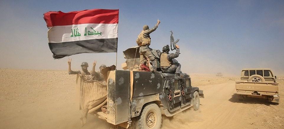 لقطة للجيش العراقي