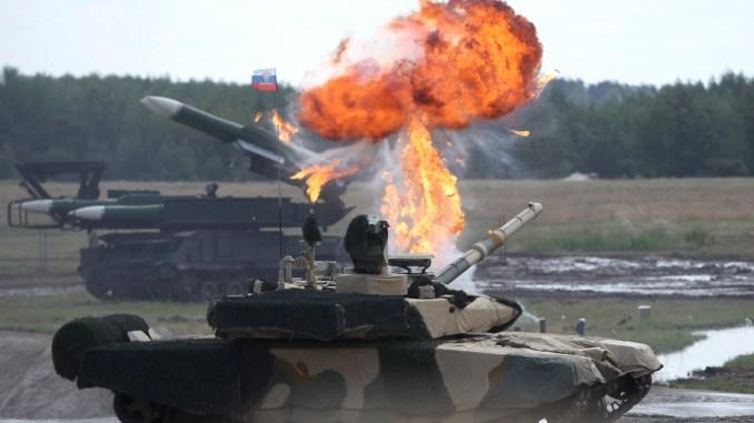 """دبابة """"تي-90 إم إس"""" الروسية"""