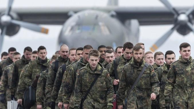 عناصر من القوات الألمانية