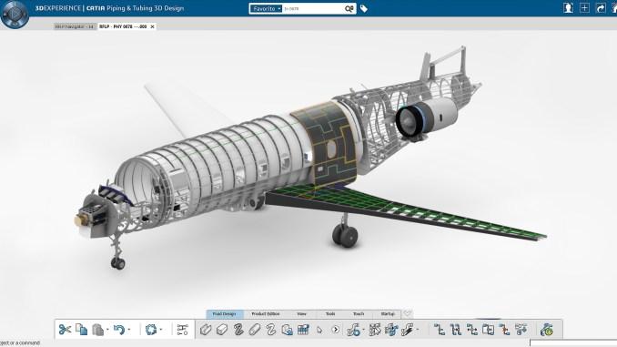 طائرة يتم تصنيعها بطريقة ثلاثية الأبعاد