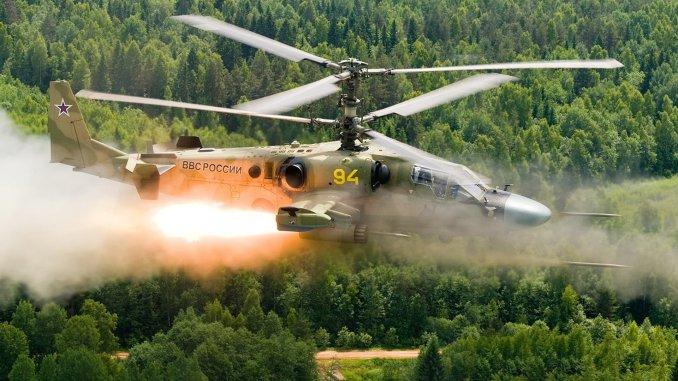 المروحية الروسية الهجوميّة التمساح