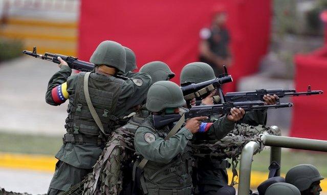 جنود فنزويليون