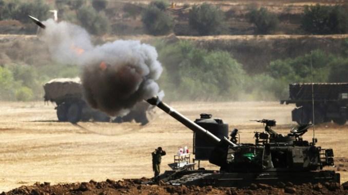 مدفعية إسرائيلية