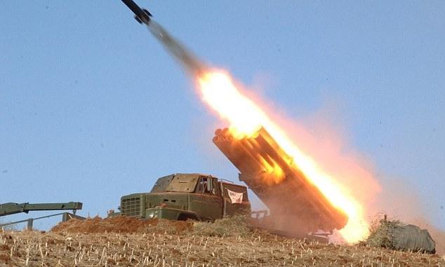 تجربة صاروخية كورية شمالية