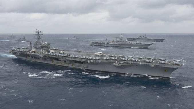 حاملة USS Nimitz الأميركية