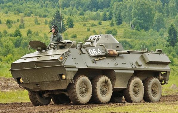 """مدرعة """"أو تي-64"""""""