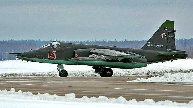 مقاتلة سوبر غراتش تابعة للقوات الجوية الروسية