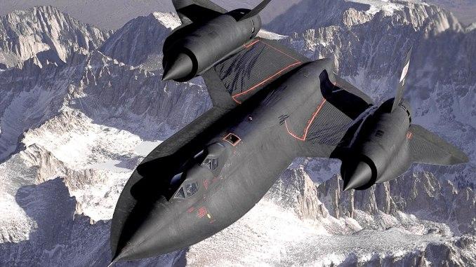 طائرة SR-71 الأميركية