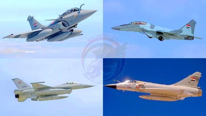 مقاتلات تابعة لسلاح الجو المصري