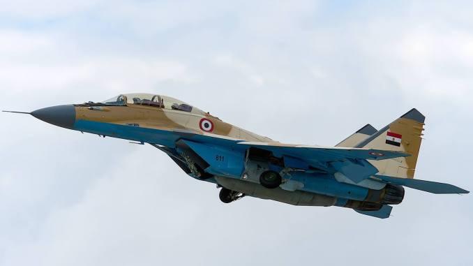 """أحدث لقطة لمقاتلة """"ميغ-29/أم2"""" المصرية"""