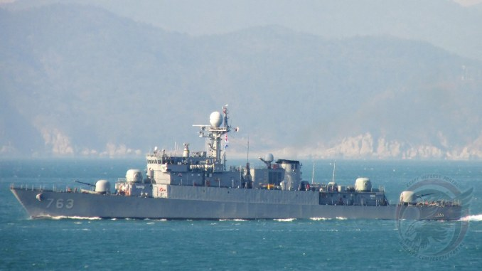 الكورفيت الكوري الجنوبي Jinju PCC-763 