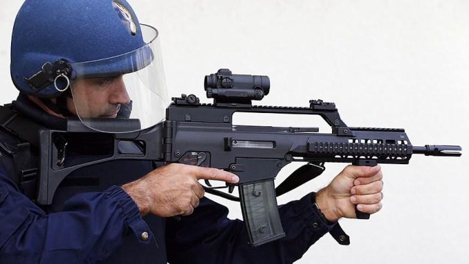 سلاح رشاش من شركة هكلر آند كوخ