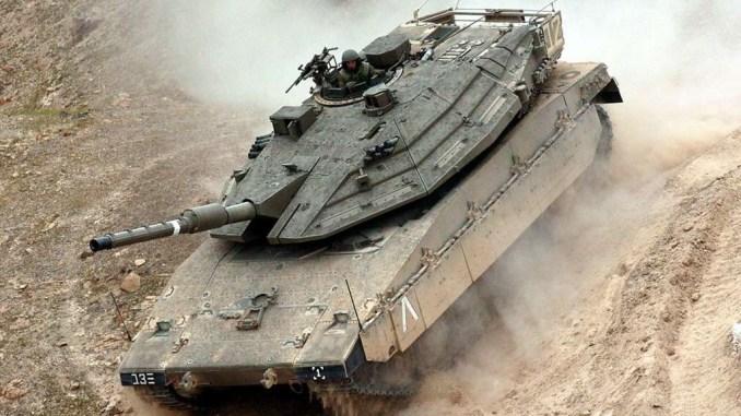 دبابة ميركافا إسرائيلية